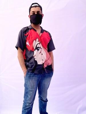 Anime Buttoned Shirt