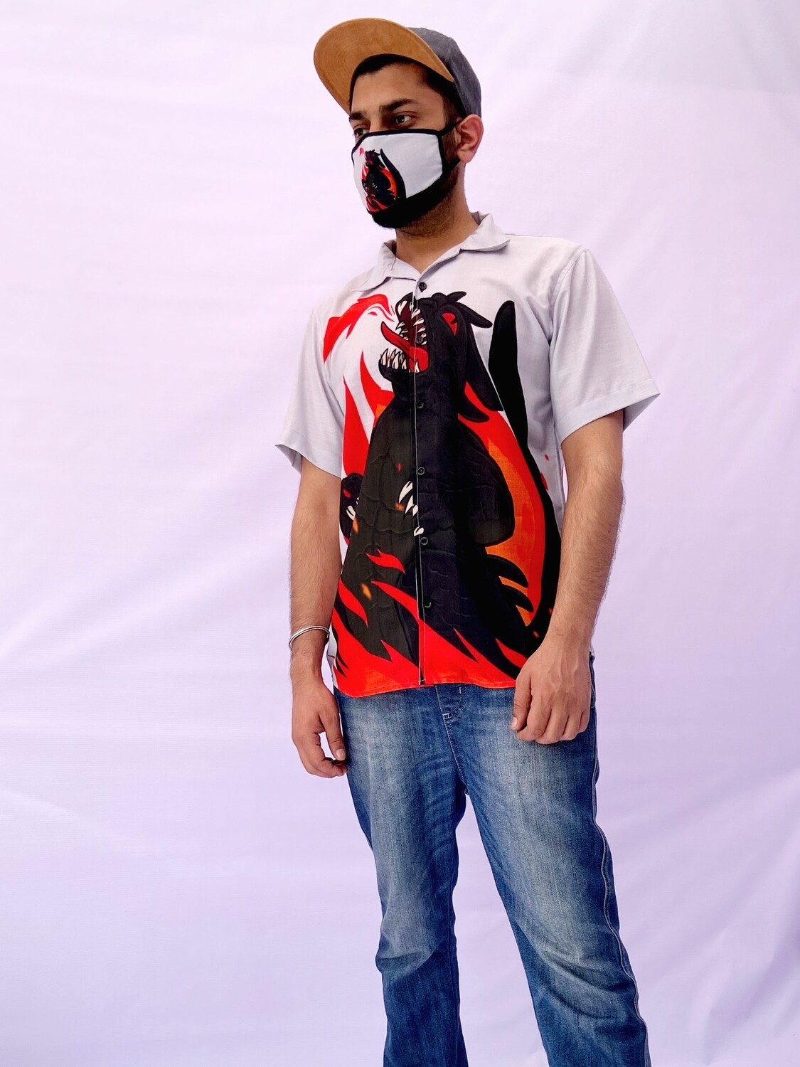 Flame Master Buttoned Shirt