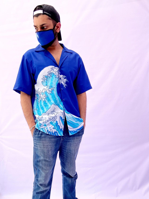 Waves Buttoned Shirt