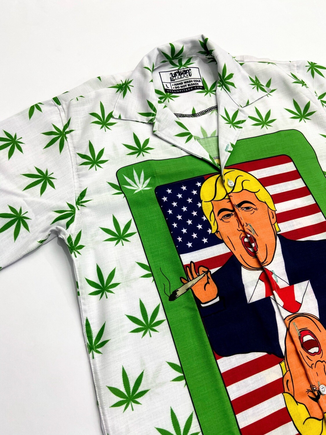 Trump Stoned Buttoned Shirt