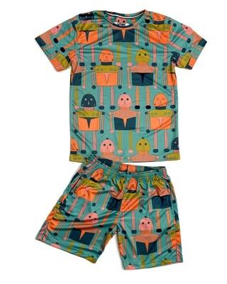 ROBO t-shirt and shorts Combo