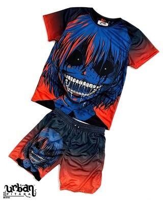 Vampire t-shirt and shorts Combo