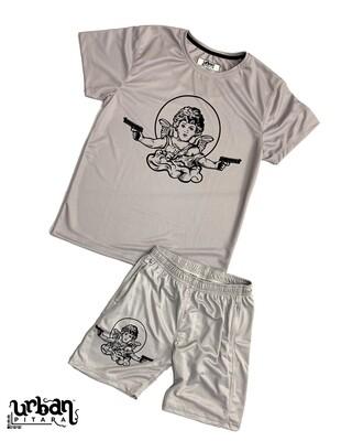 Pulp Fiction t-shirt and shorts Combo