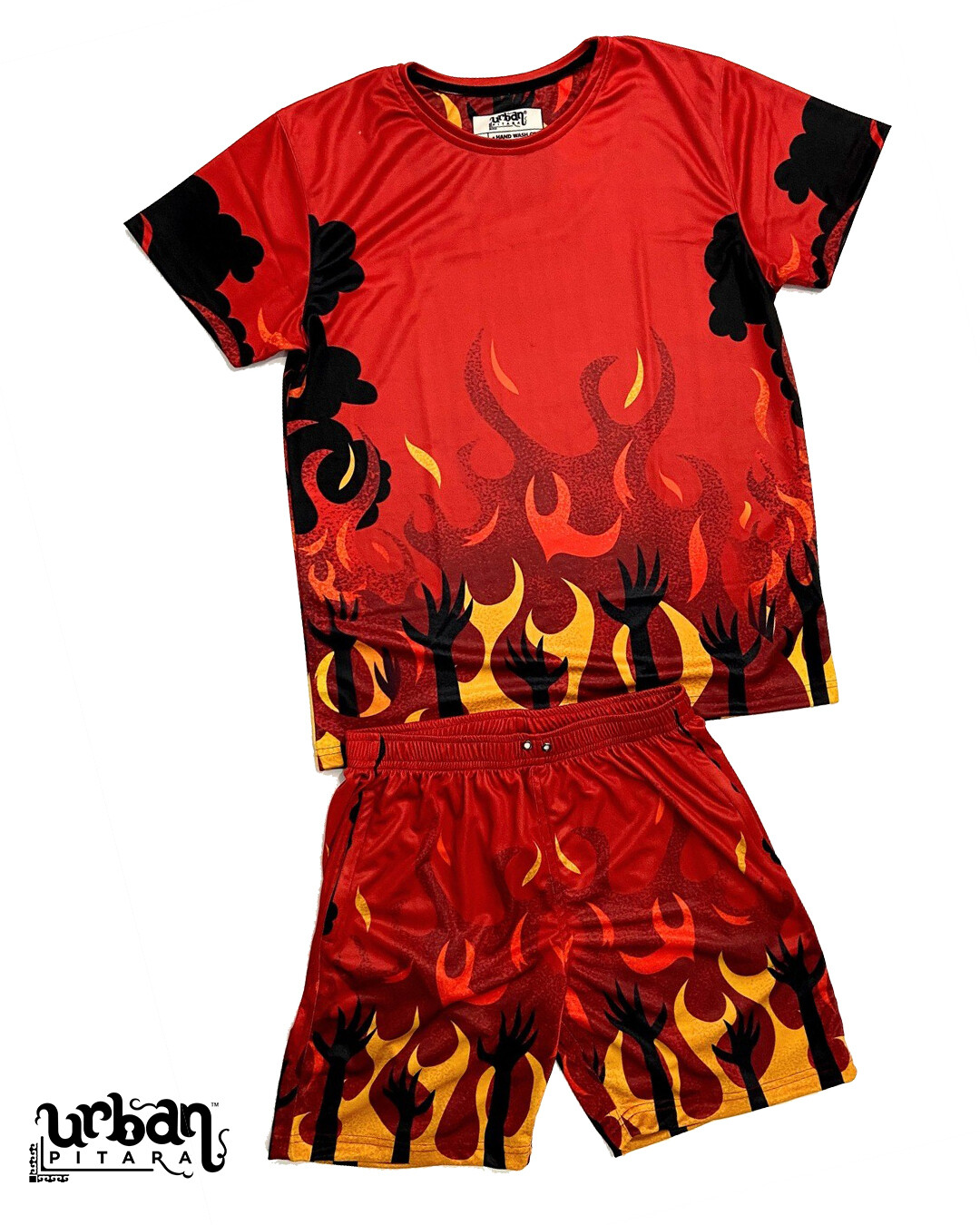 Hell Story T-shirt and shorts Combo