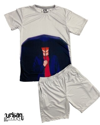 Armour Umbrella T-shirt and shorts Combo