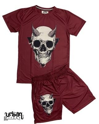 Hell Raiser t-shirt and shorts Combo