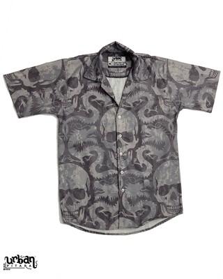 Venom Skull Buttoned Shirt