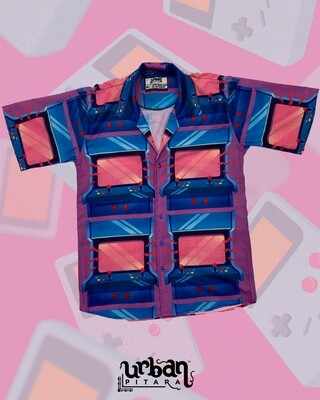 Game Station Buttoned Shirt