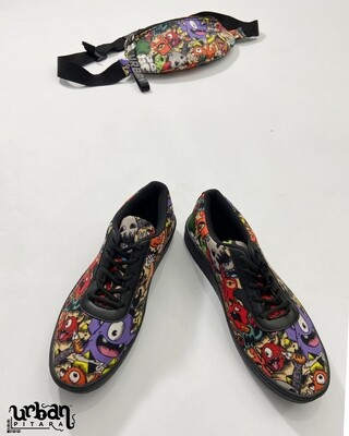 Cute Monsters Fanny & shoes Combo