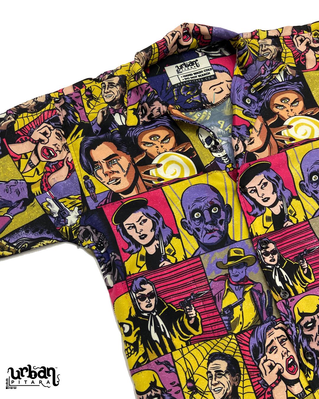 Killer Comics Buttoned Shirt