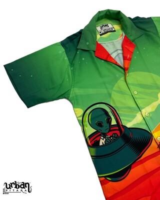 Mars Rider Buttoned Shirt