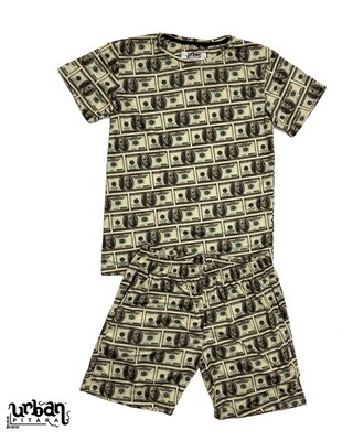 Dollar T-shirt and shorts Combo