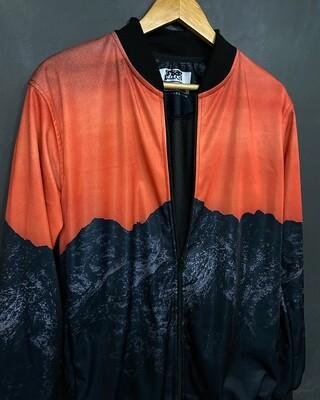 Mountain Grunge Bomber Jacket