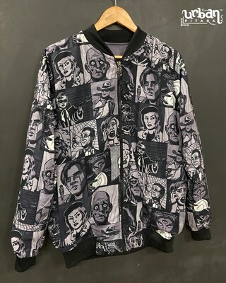 Killer Comics AllOver Print Bomber Jacket