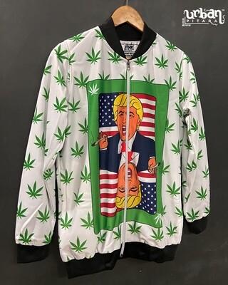 Trump Stoned Bomber Jacket