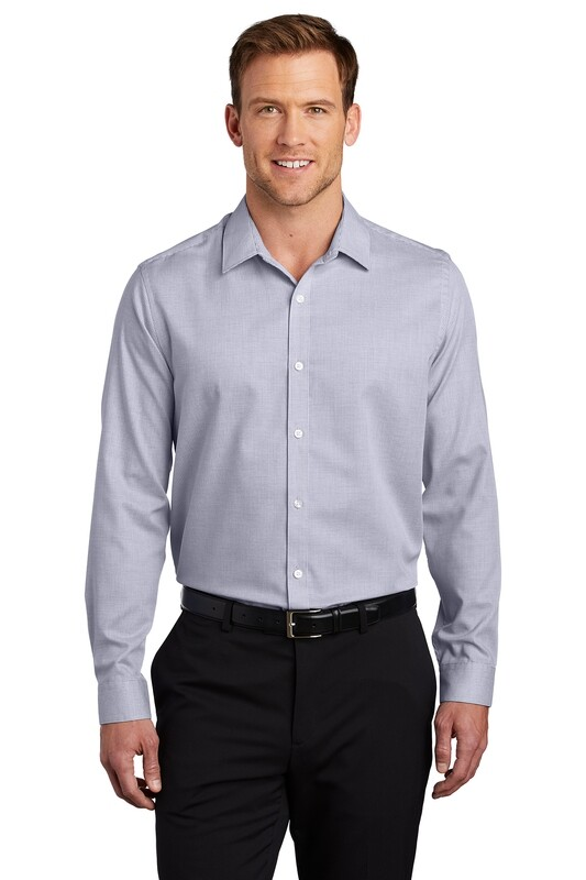 Men's Pincheck Long Sleeve Easy Care Shirt