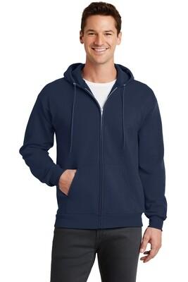 Men's Full Zip Hooded Fleece Sweatshirt