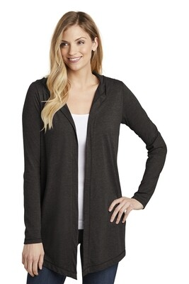 Ladies District brand Hooded Cardigan