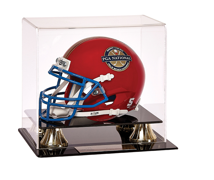 Football Helmet with Case - Small Size Replica