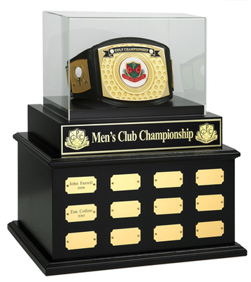 Large Perpetual Base WITH Championship Belt