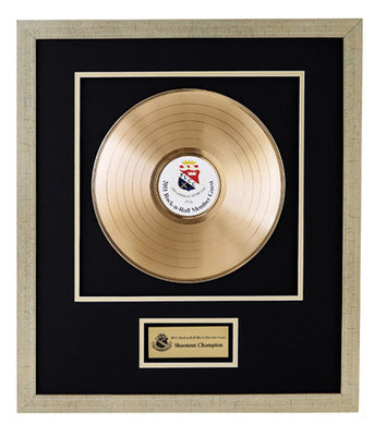 Framed & Matted Record - 2 Sizes