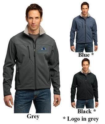 Port Authority Mens Glacier Soft Shell Jacket