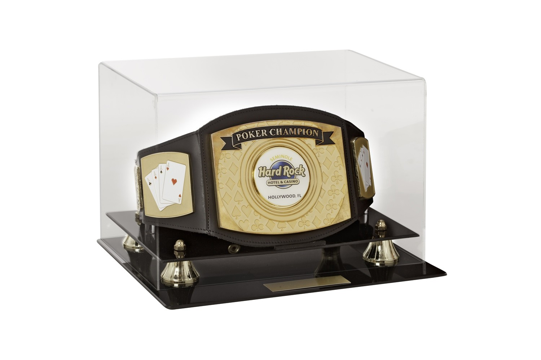 Poker Championship Belt with Case
