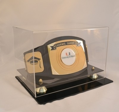 Academic Championship Belt with Case