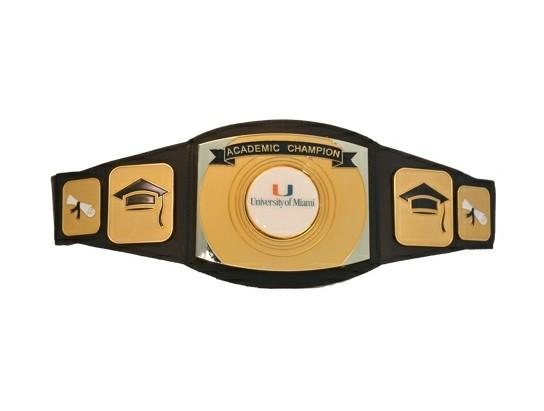 Academic Championship Belt