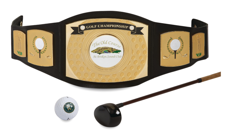 Championship Belt for Golf