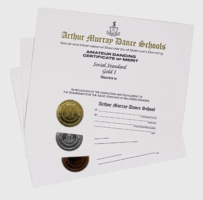CERTIFICATES - SILVER