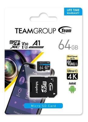 MEMORIA MICROSD 64GB TEAMGROUP