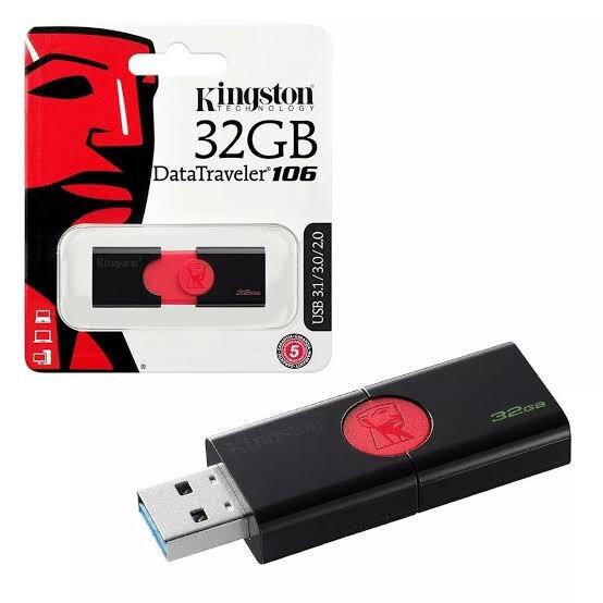 MEMORIA USB KINGSTON 3.0 DATA TRAVELER 32GB DT106 32GB