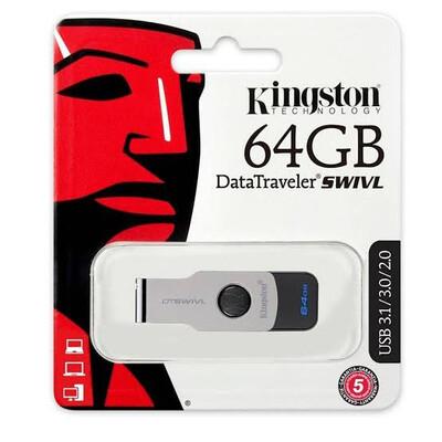 USB 3.1 64GB SWIVL NEGRO