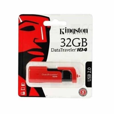 USB 2.0 32GB DT104 ROJO