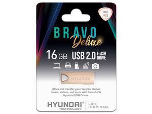 USB 16GB  METAL ROSA CROMOHYUNDAI BRAVO DELUXE