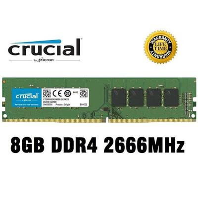 UDIMM DDR4 8GB 2666MHZ 1.2V