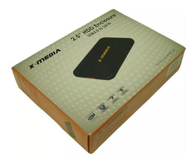 CASE SATA 2.5  USB 2.0 CLIP