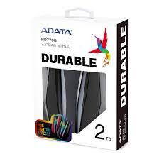 DISCO DURO EXTERNO ADATA AHD770G 2TB NEGRO USB 3.2 RGB RESISTENTE A GOLPES  IP68 AHD770G 2TU32G1 CBK