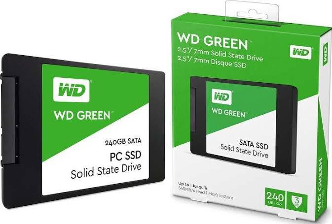 SSD INTERNO WESTERN DIGITAL GREEN 240GB SATA III 2.5P WDS240G2G0A