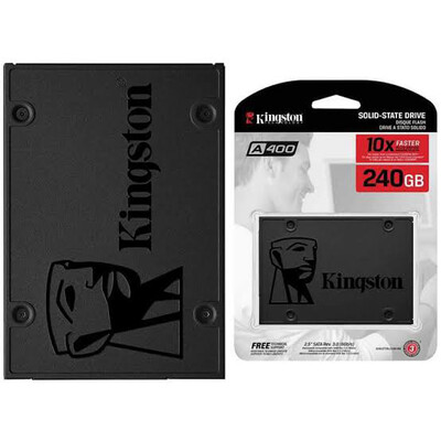 SSD INTERNO KINGSTON SA400 SATA 240 GB SA400S37 240G