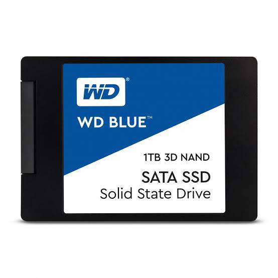 SSD INTERNO WESTERN DIGITAL BLUE 1TB SATA III 3D NAND 2.5P 7MM WDS100T2B0A