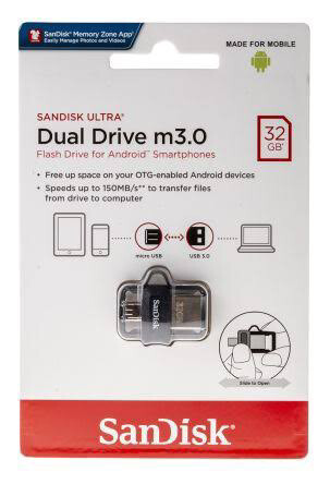 MEMORIA USB SANDISK ULTRA DUAL DRIVE GO USB TYPE C 3.1 32GB SDDDC3 032G G46