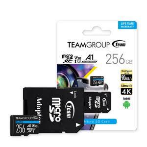 MICRO SD 256GB TEAM GROUP A1