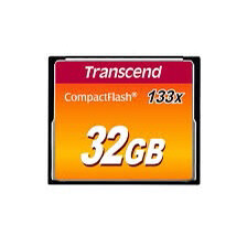 Memoria Compactflash Transcend 32gb 133x Ts32gcf133