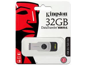 USB 3.1 32GB SWIVL NEGRO