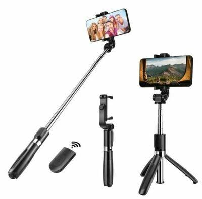 Baston Selfie Stick Tripie Celular Control Remoto Bluetooth