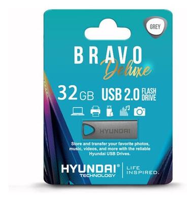 USB2.0 32GB BRAVO GRIS OBSCURO