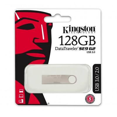 MEMORIA USB KINGSTON DTSE9G2 METAL 128GB 3.0 DTSE9G2 128GB