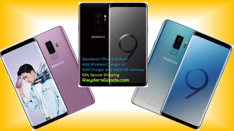 Samsung Galaxy S9 S9+ G965U Unlocked LTE Smartphone